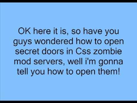 How to Unlock Secret Doors in Css