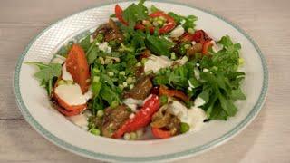 Ели у Емели. Салат из запеченного перца и белых грибов. Вып.004