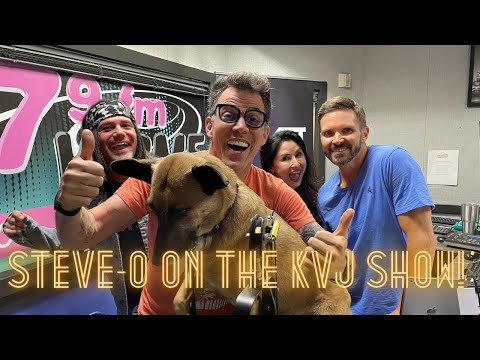 Steve-Os-Interview-With-The-KVJ-Show
