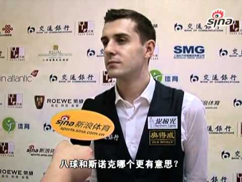Mark Selby Post Match Interview - 2011  Shanghai Masters