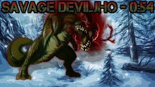 【MH3U】Savage Deviljho︱4 P︱0:54︱LBG︱HBG