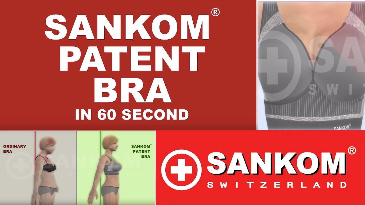 baeae5146c 60 SECONDS! SANKOM PATENT BRA - YouTube