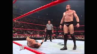 Chris Benoit vs. Snitsky: Raw, June 6, 2005
