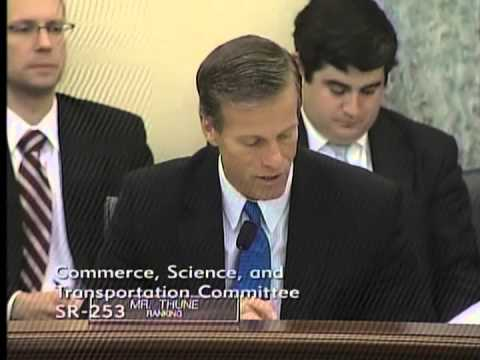 Thune at Commerce on Aviation Safety