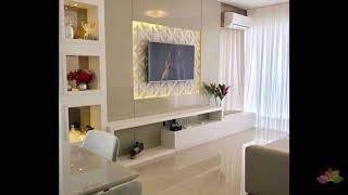 Best TV unit design for living room and bedroom wall for 2019