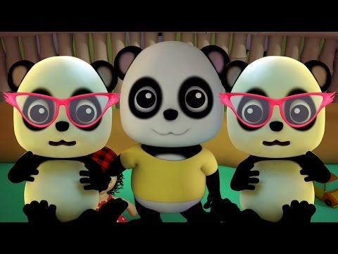 mười trong giường | vườn ươm vần Đối với trẻ em | Nursery Rhymes | Bao Panda Ten In The Bed