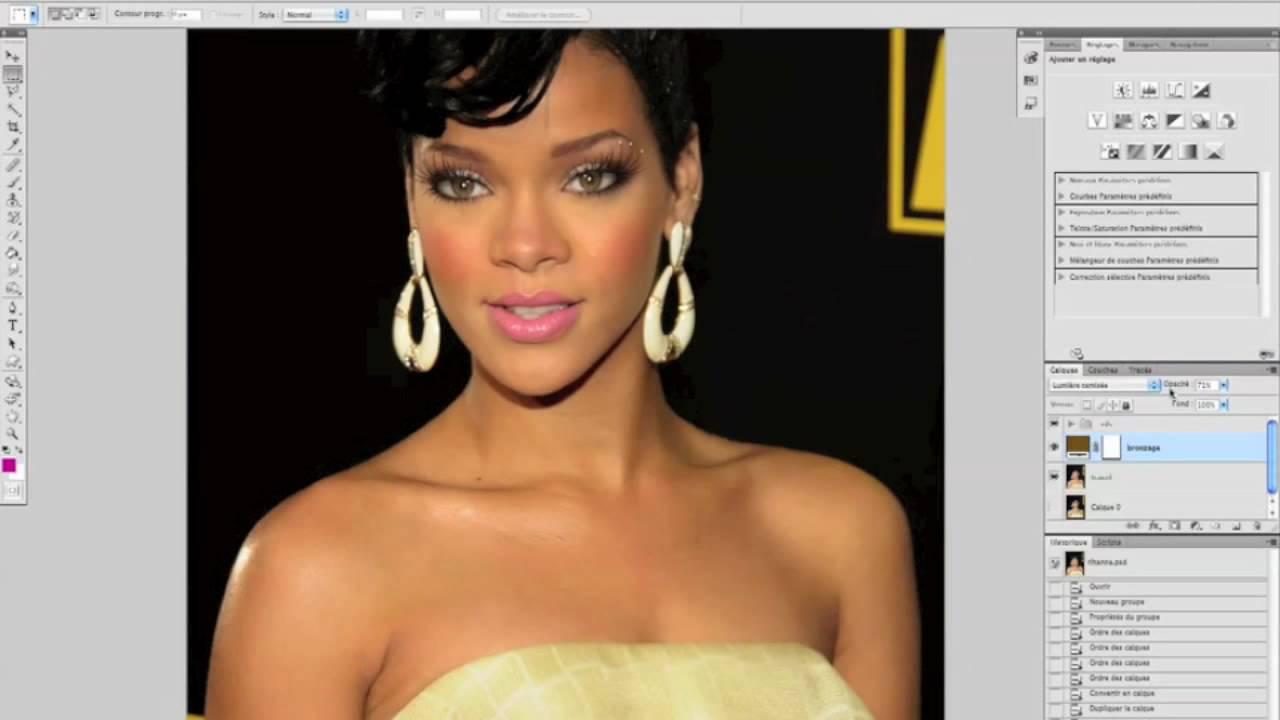 TUTO Bronzer la peau et changer la couleur d'un objet avec Photoshop CS5 sur