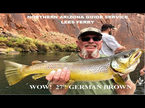 Lees Ferry, AZ., BEST FISHING WITH MIKE ROTH, Northern Arizona Guide Service