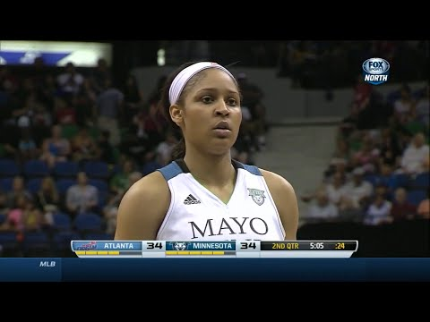Maya Moore Full Highlights 2014.07.22 vs Dream - 48 Pts, Career-High, Lynx Record