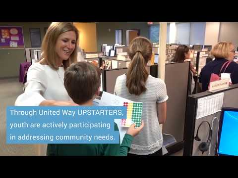 Greater Waterbury Youth Lead Donor Thankathon | UPSTARTERS | United Way of Greater Waterbury