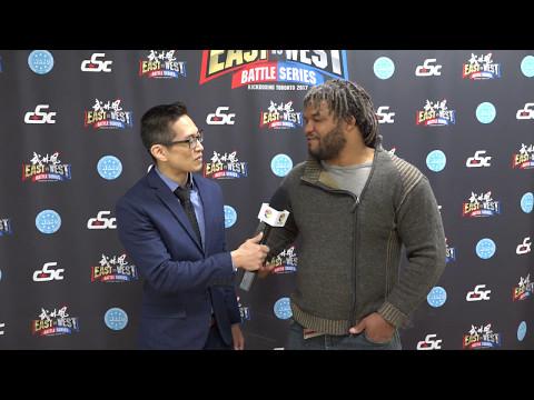 Carlos Newton ( The Ronin) - Wu Lin Feng WLF Toronto East vs West Battle Series Interview