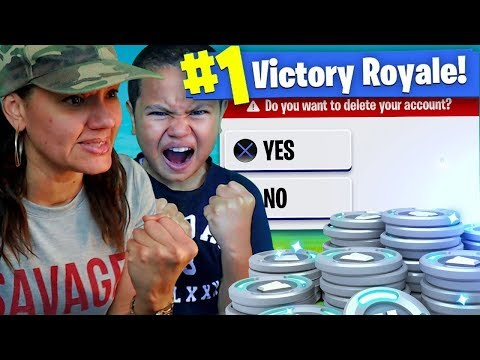 Mom tells 9 year old kid to Delete fortnite forever...(prank!) *HE RAGED EXTREMELY HARD!*