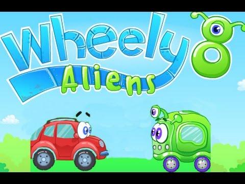Мультик - игра Машинка Вилли 8: Пришельцы