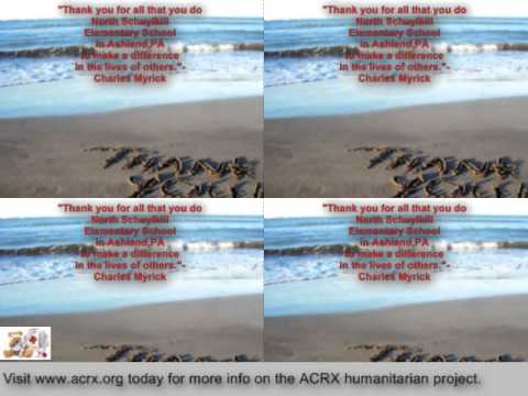 Pharmacy Discount Network Donate Rx Help To North Schuylkill Elementary School By Charles Myrick of