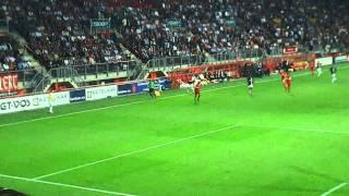 Fc Twente Psv 2011 eredivisie. laatste minuten van de wedstrijd.