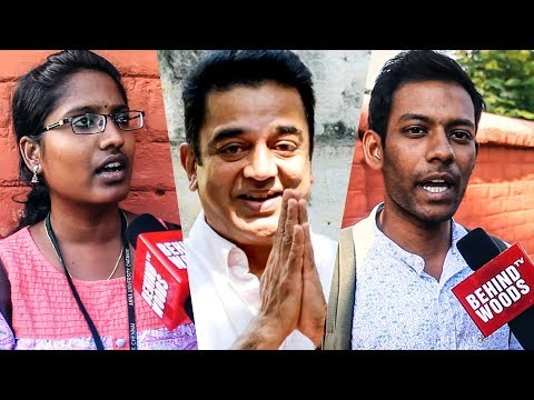 """We will welcome Kamal Haasan into Politics""- Public opinion  Chennai Speaks   DC 52"