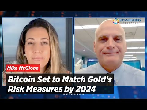 Bitcoin Set to Match Gold's Risk Measures by 2024: Bloomberg Intelligence