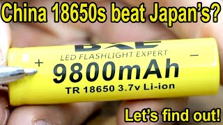 Will China's 18650 Battery Beat LG, Samsung, Sony & Panasonic? Let's find out!