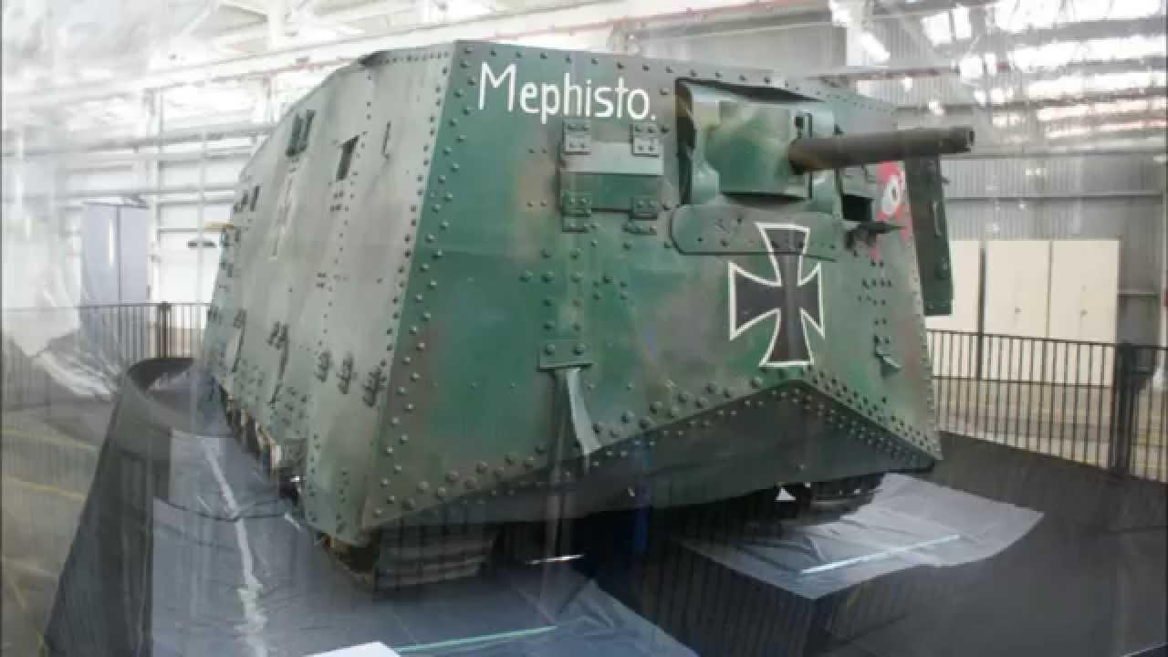 Military Tanks For Sale >> A7V Mephisto German Tank , Last Surviving Original Housed ...