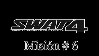 "Swat 4 PC Español Misión 6 ""Oficinas De Red Library"" Gameplay HD"