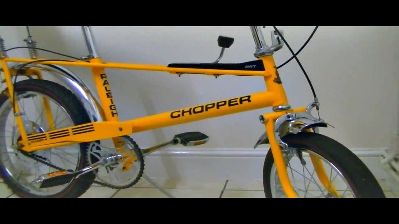 1971 MK1 Raleigh Chopper Restored