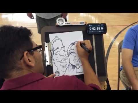 Fastest Caricature Artist?