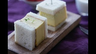 일본식 계란샌드위치만드는법~타마고산도(타마고샌드위치) 만들기 달달하고 부드러워요!!