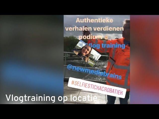 Vlog training op locatie - de mannen van het water