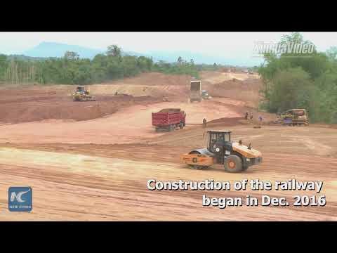 1st China-Laos railway tunnel holed through