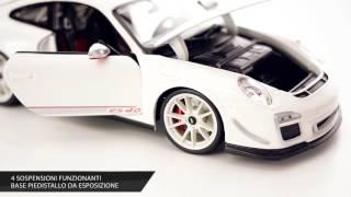 Porsche 911 GT3 Rs 4.0 by Bburago Die Cast 1/18