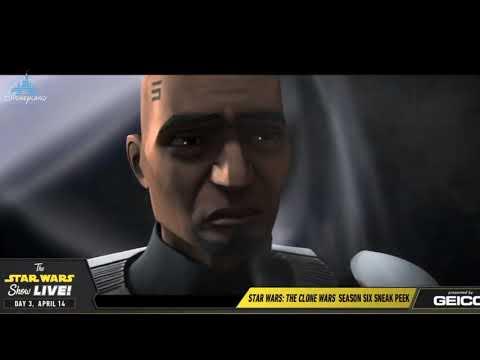 Star Wars Clone Wars Season 7 Trailer - Star Wars Celebration 2019 Chicago