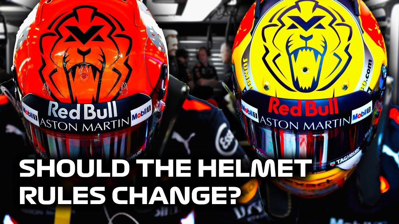 Should the Helmet Rules Change in Formula 1?