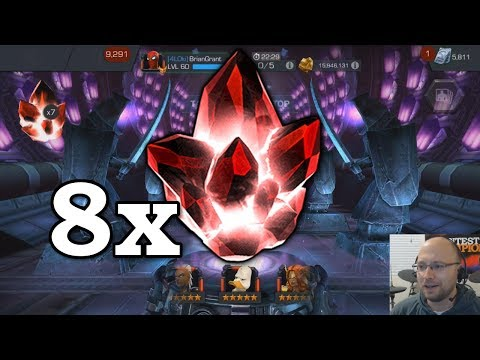 80,000 5-Star Shards - Crystal Opening | Marvel Contest of Champions thumbnail