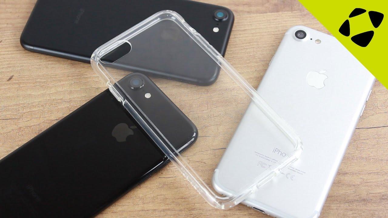 designer fashion b064d e6355 Spigen Ultra Hybrid Crystal iPhone 7 Clear Case Review - Hands On