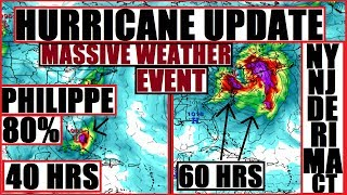 *BREAKING* TROPICAL Storm PHILIPPE Forming FAST FL PTC18 NORTHEAST Prepare MAJOR STORM