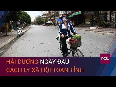"""Tin tức Covid-19 mới nhất 16/2: Hải Dương """"vắng hoe"""" ngày đầu cách ly xã hội toàn tỉnh   VTC Now"""