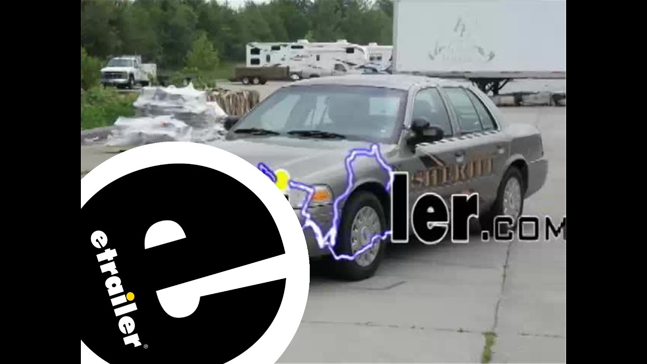 small resolution of trailer wiring harness installation 2003 ford crown victoria etrailer com