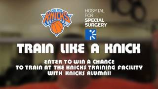"Steve Schirripa and John Starks ""Train Like a Knick!"""
