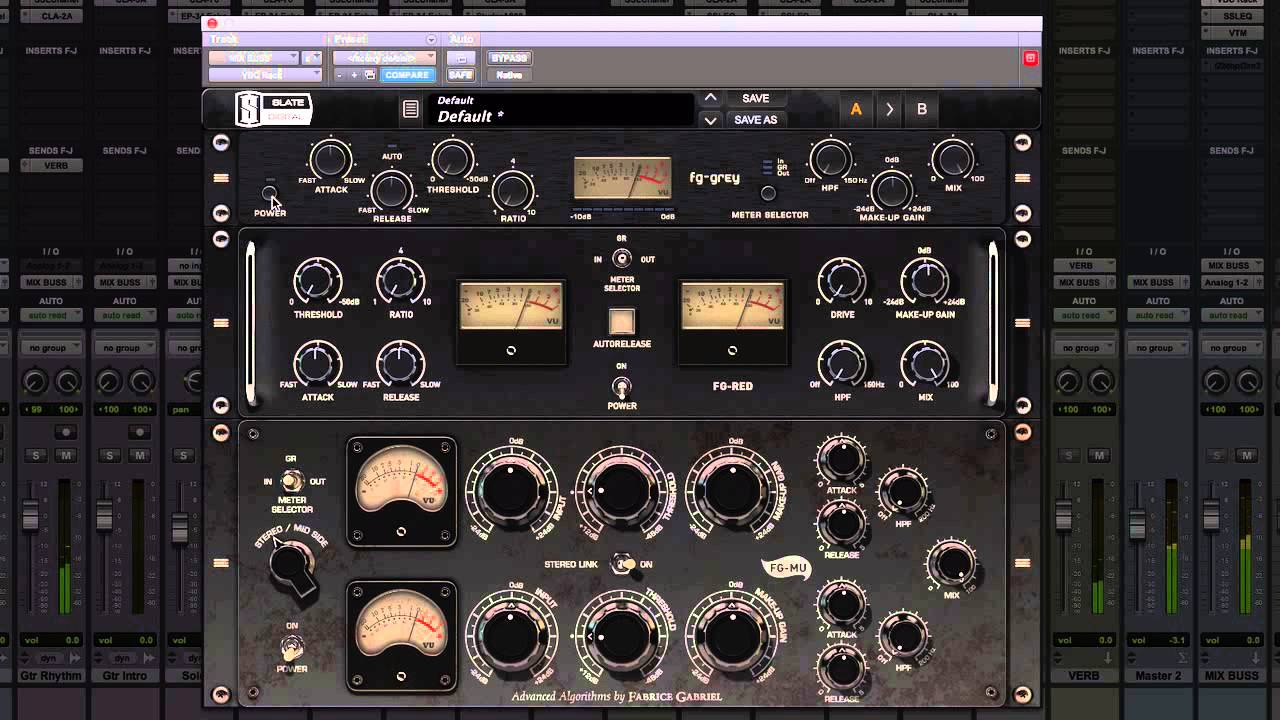 Slate Digital Virtual Buss Compressors VST Free Download