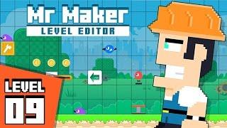 Mr Maker Level Editor - Level 9: Big Star of Coins