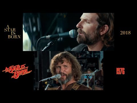 A Star is Born (1976/2018) Side-by-Side Comparison