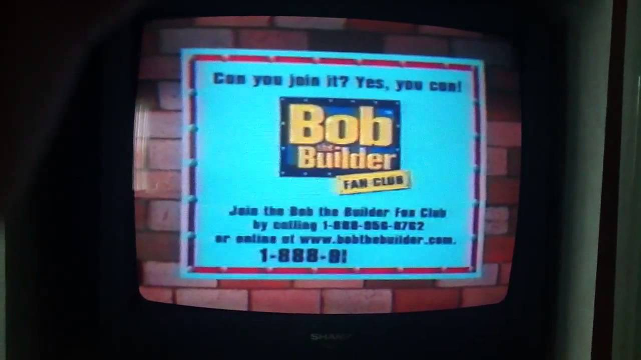 Bob The Builder Fan Club Commercial Youtube