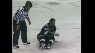 CHL Missouri-Rapid City hockey fight - Colt King vs Garrett Gruenke 1/18/13