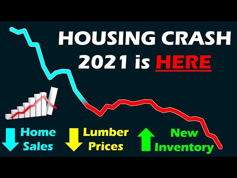 Housing Crash 2021 is HERE:  Home Sales / Lumber Prices Plummeting!