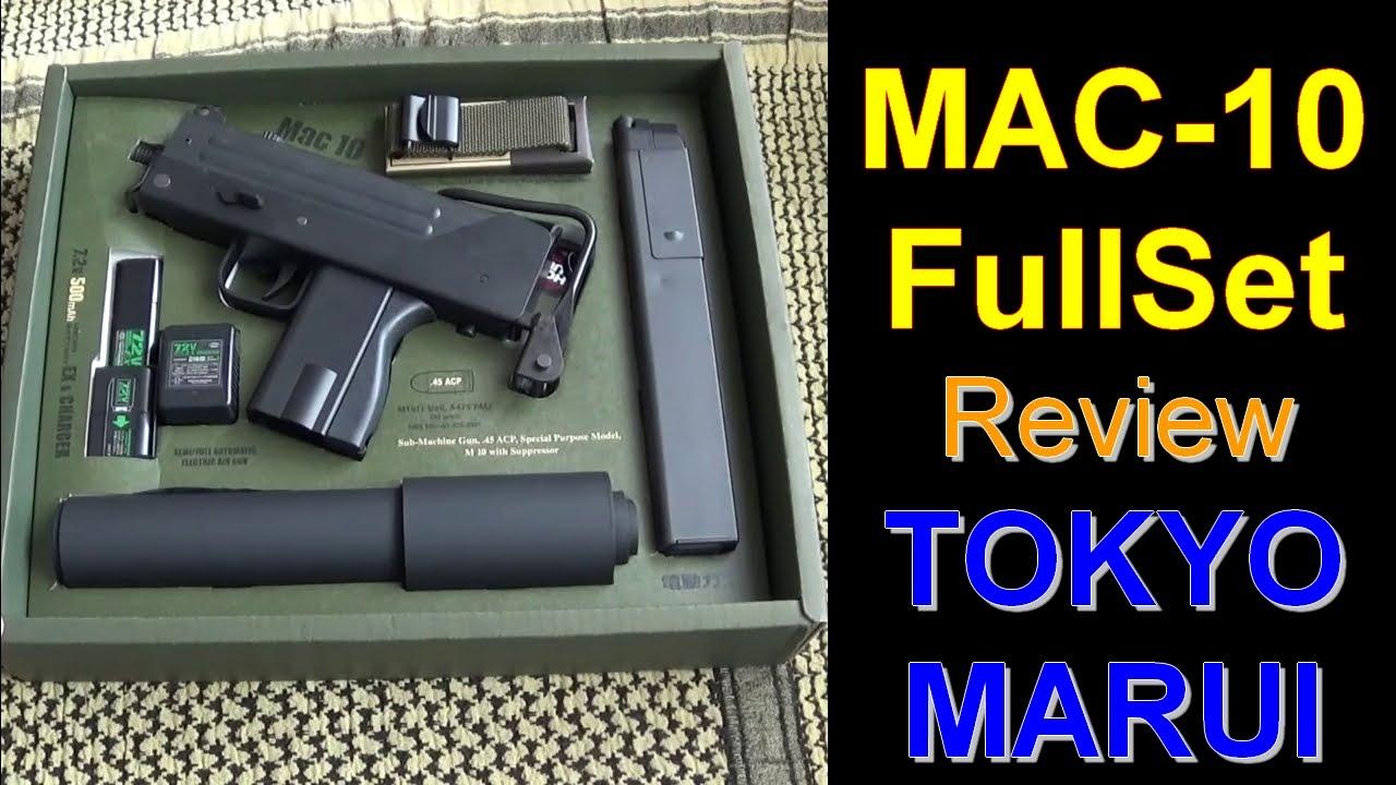 [AIRSOFT] Review N°68 ☞ INGRAM MAC-10 FullSet (TOKYO MARUI)