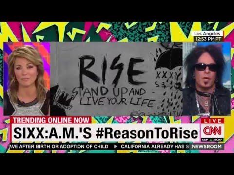 Sixx:A.M. - #ReasonToRise