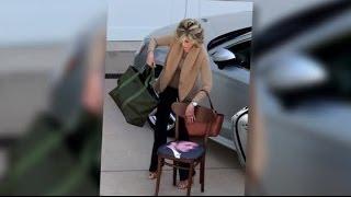 Jane Fonda Has A Chair With Ryan Gosling's Face On It | Splash News TV | Splash News TV