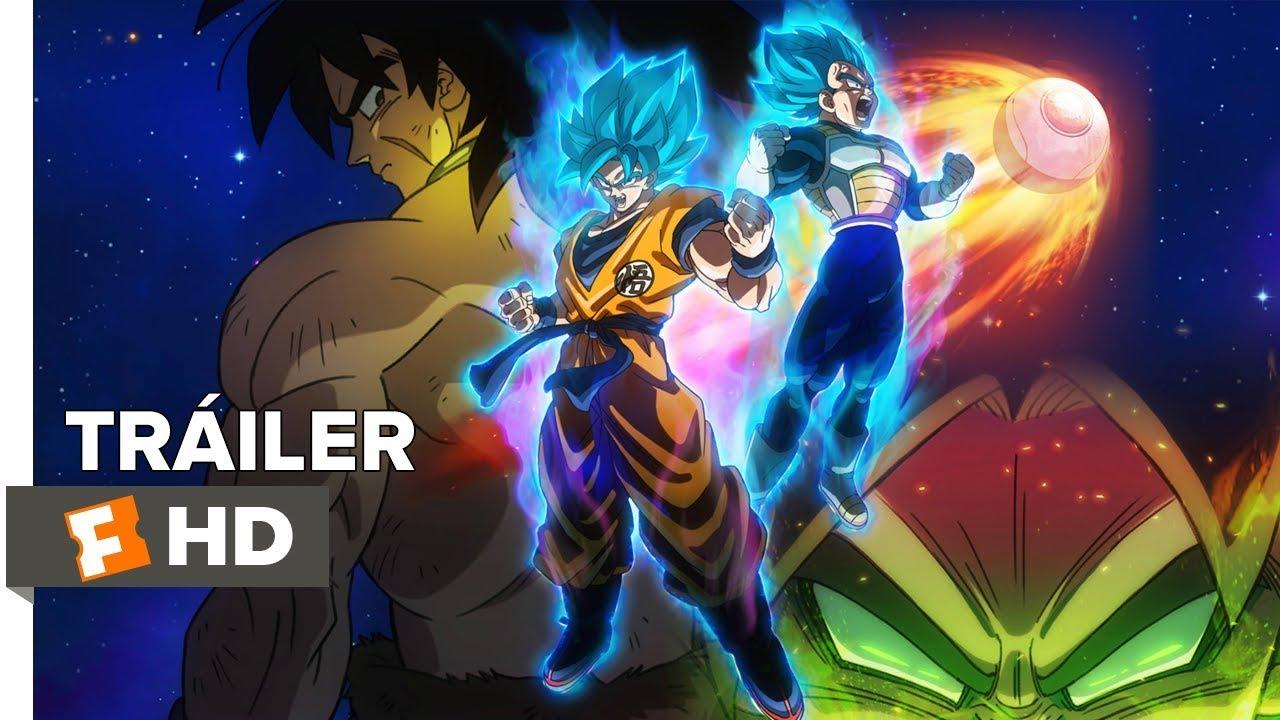 Dragon Ball Super Broly Tráiler Oficial Español Latino Youtube