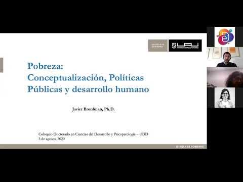 Coloquios DCDP: Pobreza: conceptualización, políticas públicas y desarrollo humano