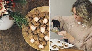 Weihnachtsdeko aus Walnüssen | DIY | #WirMachenWeihnachten